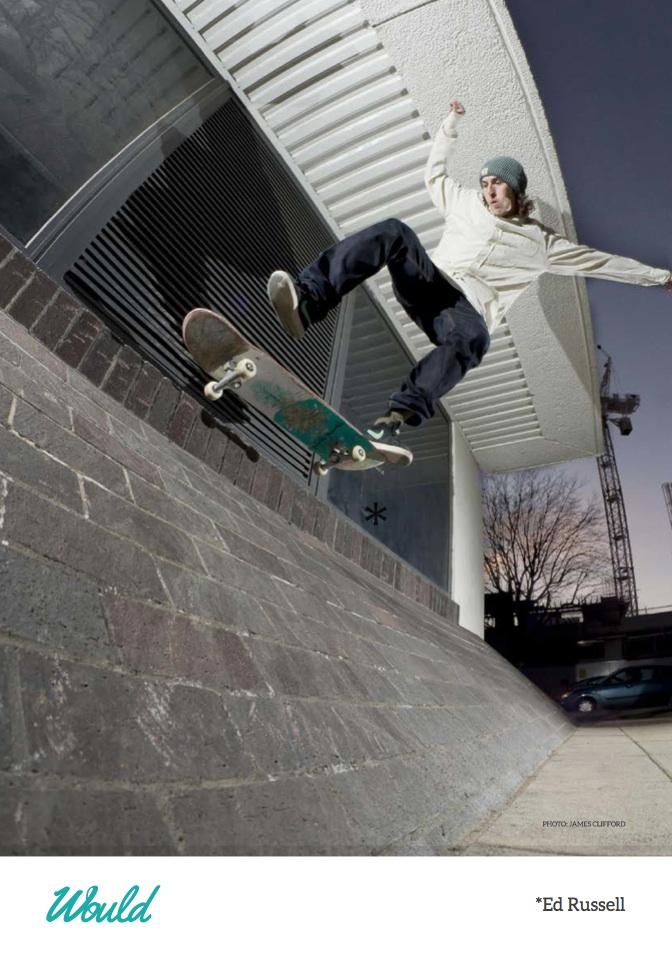 Would Skateboards - Ed Russel - Flip 5.0 - Swindon