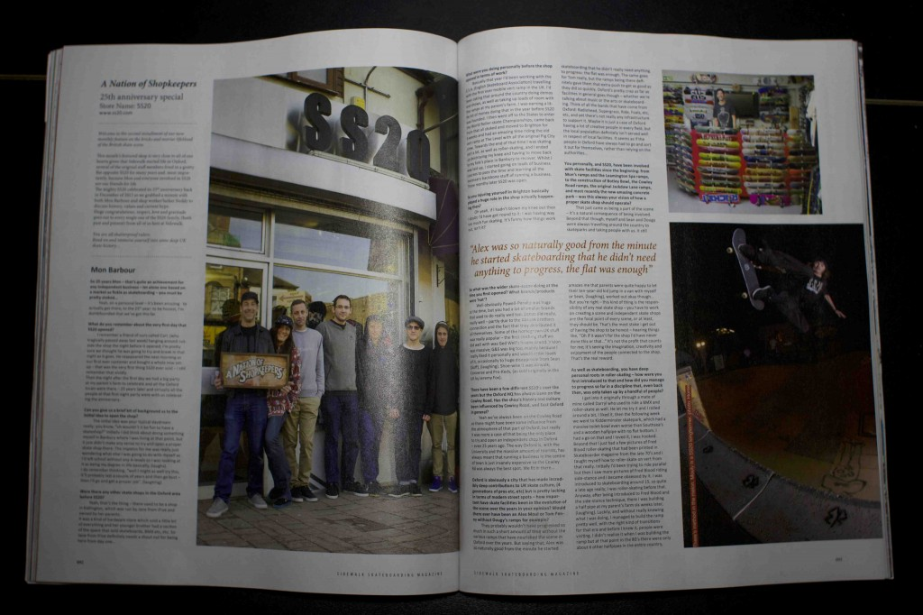 ss20 Skateshop - Sidewalk Magazine - Would Skateboards - oxford www.ss20.com