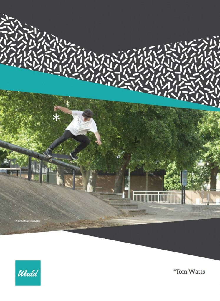 Tom Watts - Crooked Grind Oxfrod - ss20 - Would Skateboards
