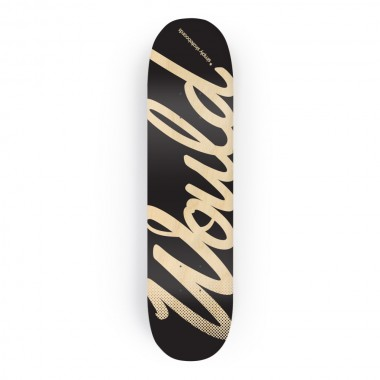 Would-Script-board-black-Wood