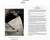 Sidewalk Magazine - Would Skateboards - Dale Starkie