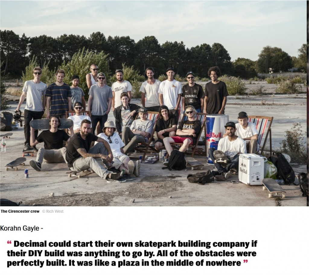 Red Bull DIY - Decimal Skateshop - Would Skateboards