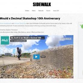 10 Year Decimal - Would Skateboards