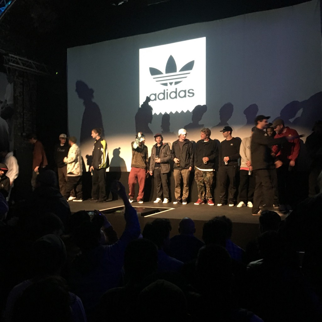 Addidas Premier - Away Days - London - Would skateboards